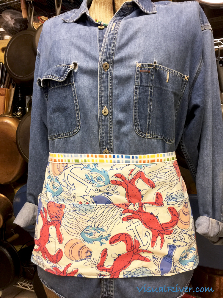 Seafood Waitress Apron