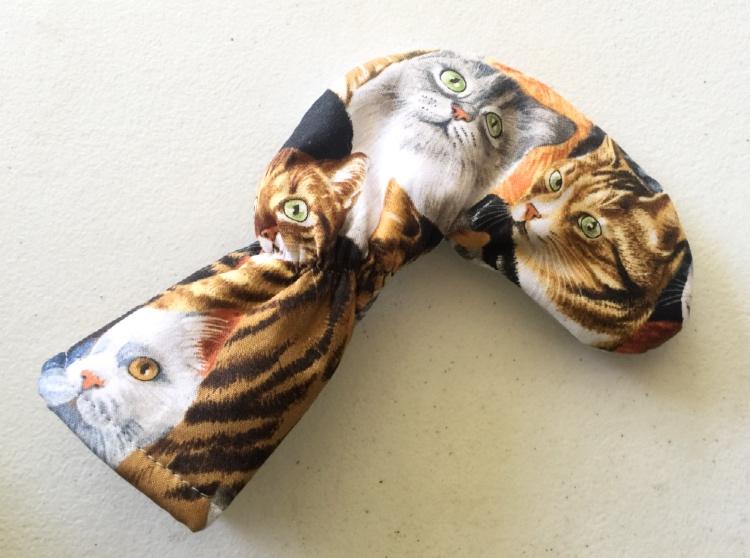Tiger Cat Golf Putter Cover