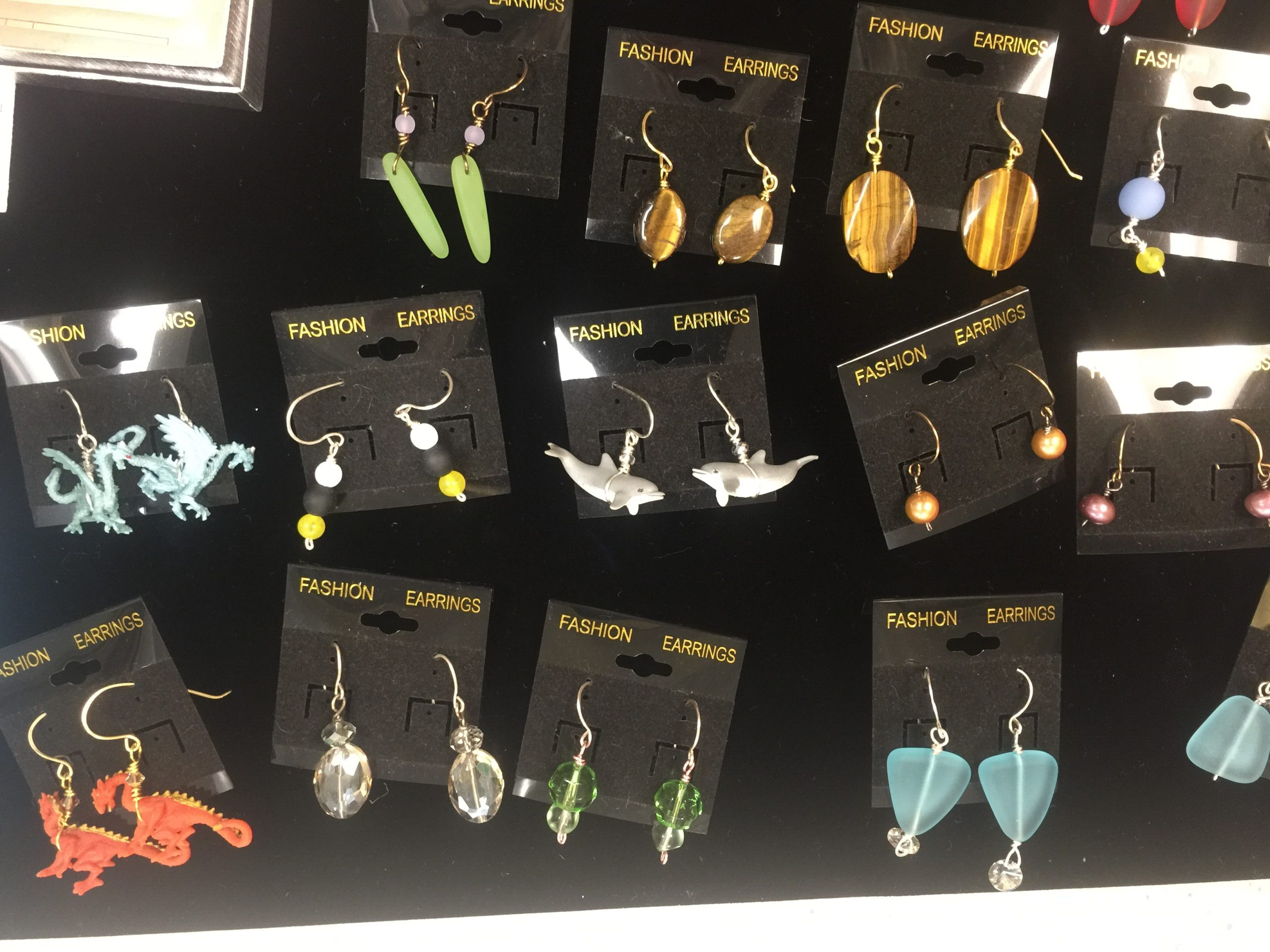 New Earrings at Museum of the Islands