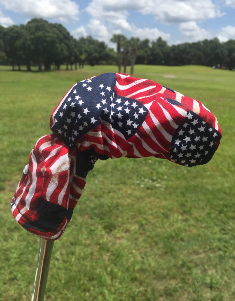 Wilson 8802 USA Flag Patriotic Putter Cover