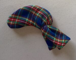 Tartan Plaid club cover blue red green yellow