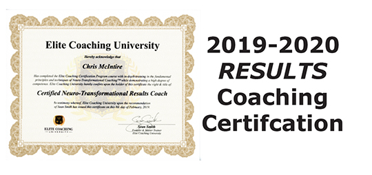 2019-2020 Results Coaching Certification