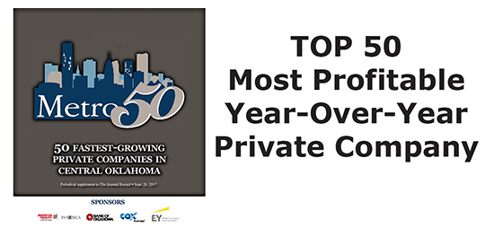 Top 50 Most Profitable Year Over Year Private Company