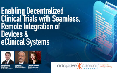 Enabling Decentralized Clinical Trials