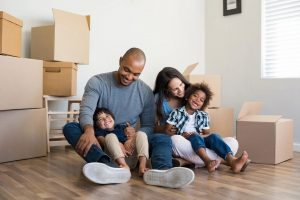 Affordable Homeownership Opportunities--family in process of moving