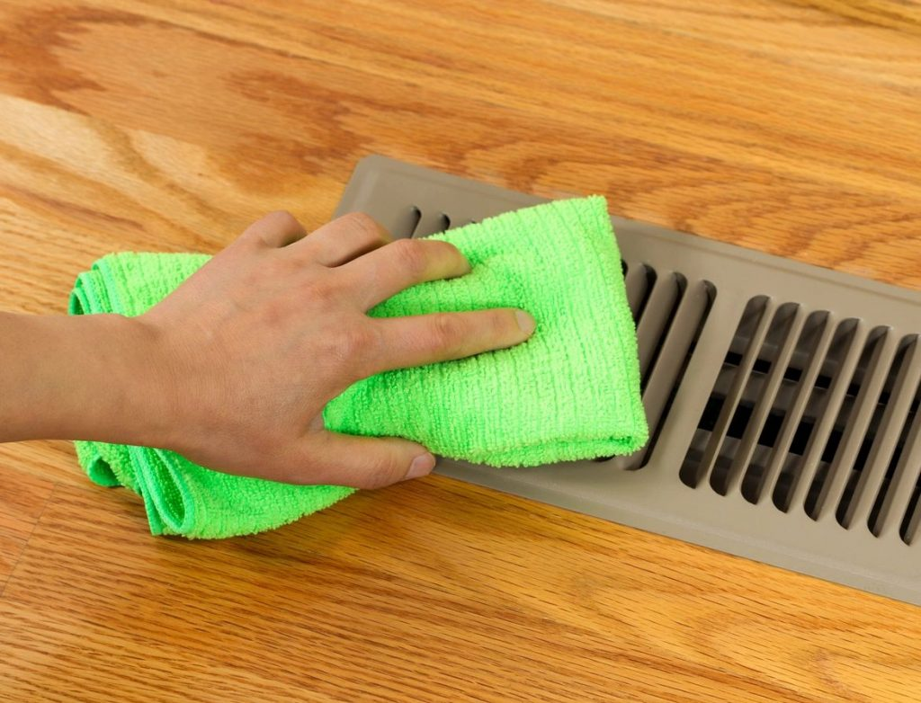 Spring Cleaning Tips--vent covers