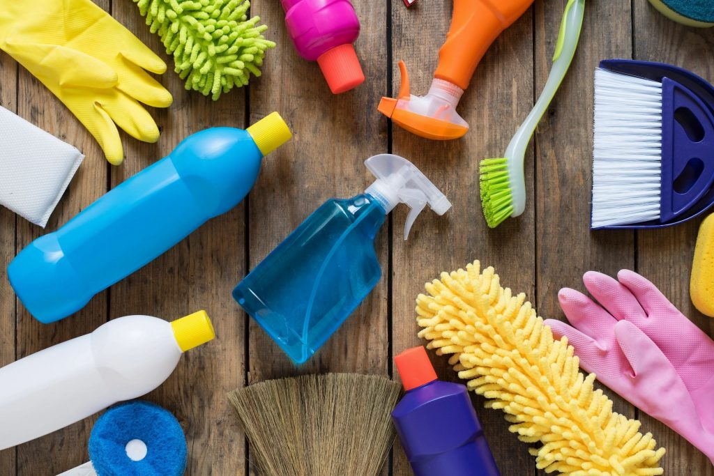 Spring Cleaning Tips--Supplies