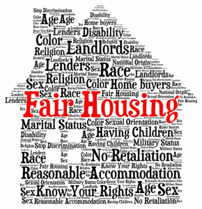What is Fair Housing? Word Image