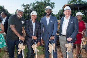 Oak Hill Groundbreaking, New construction in Birmingham