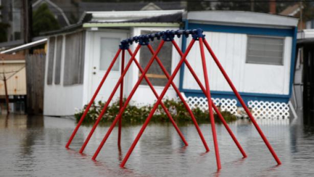 Homes in flood zones