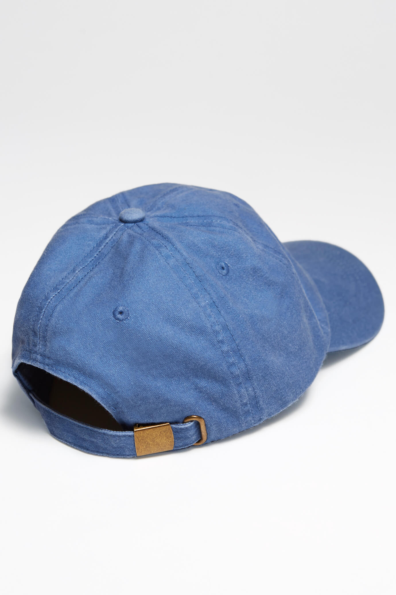 taproot pictures hat in blue rooty back