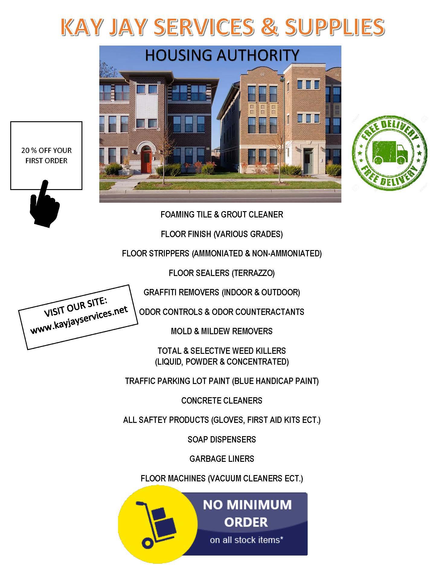 Housing Authority Flyer