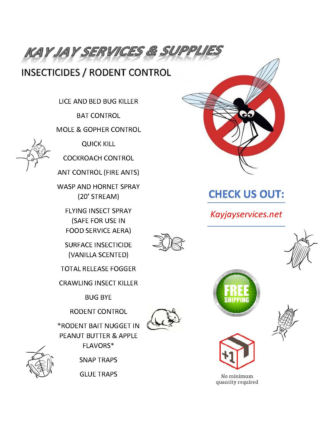 Insecticide Flyer