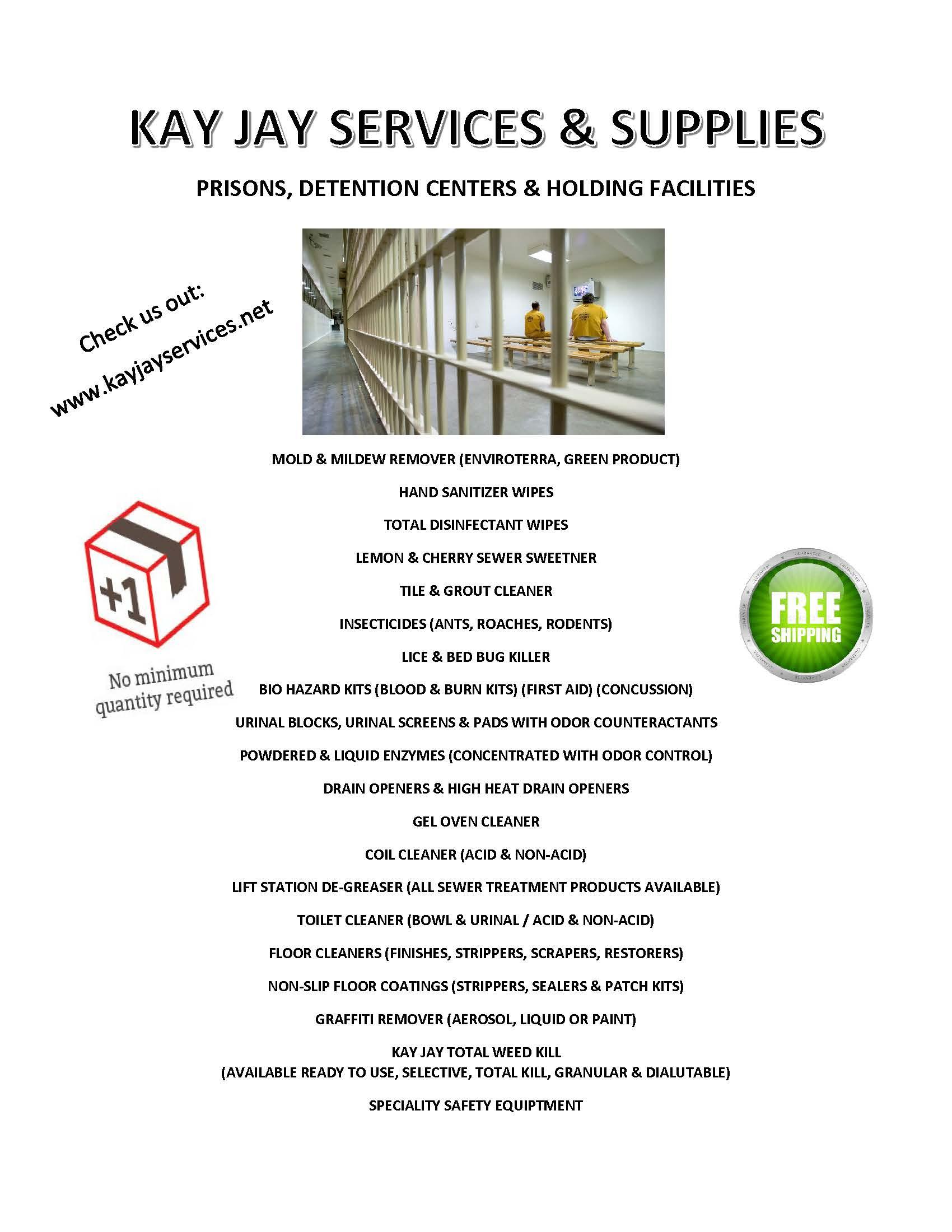 Prison Flyer