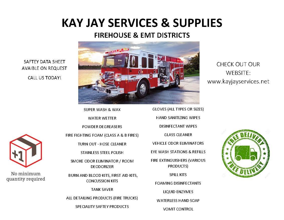 Fire Dept. & EMS Flyer