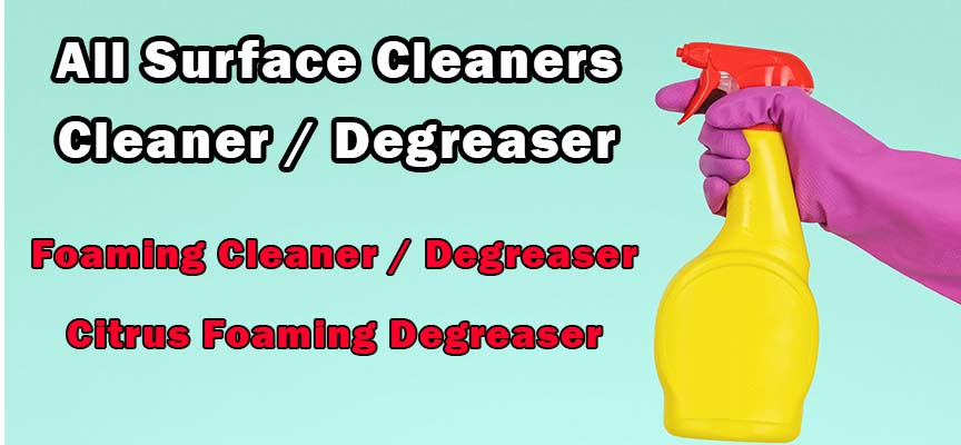 All Surface Cleaners