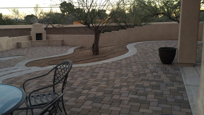 Paver Backyard