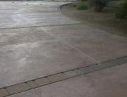 Concrete Driveway Curve