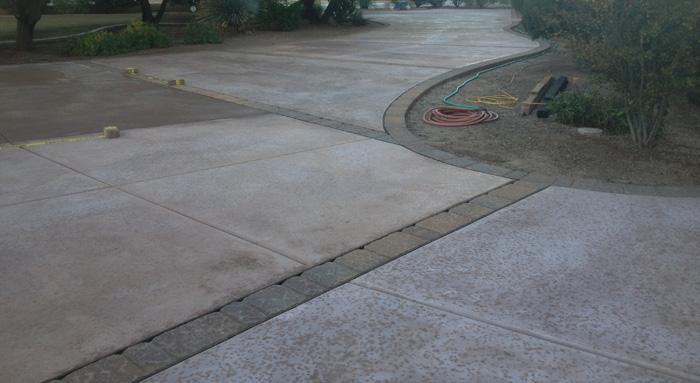 Concrete Driveway Layers