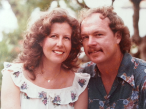 Cheryl and Rod when they were married in 1981