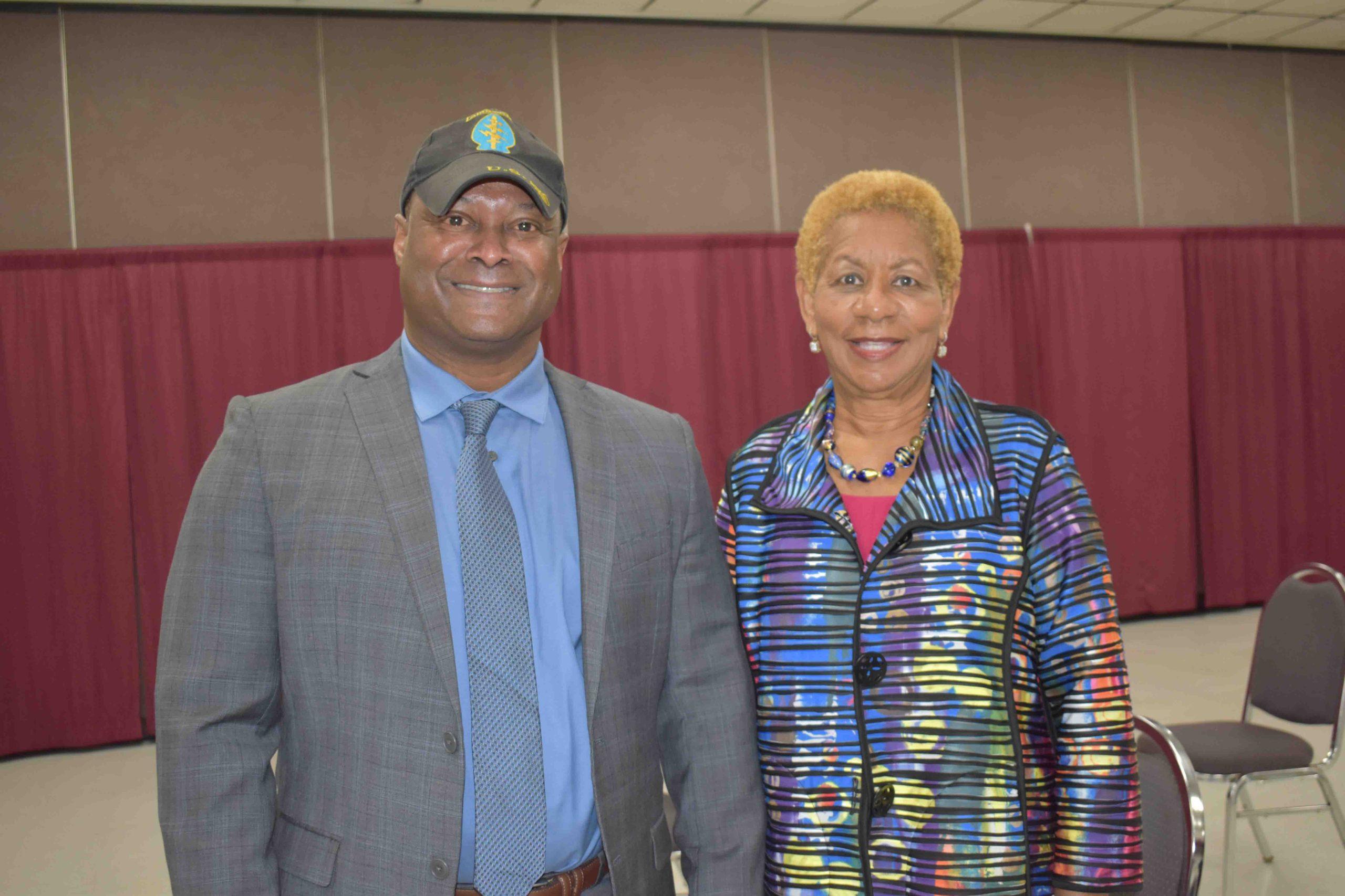 Infectious Disease Expert, Dr. Lane Rolling, Pine Bluff Mayor Shirley Washington
