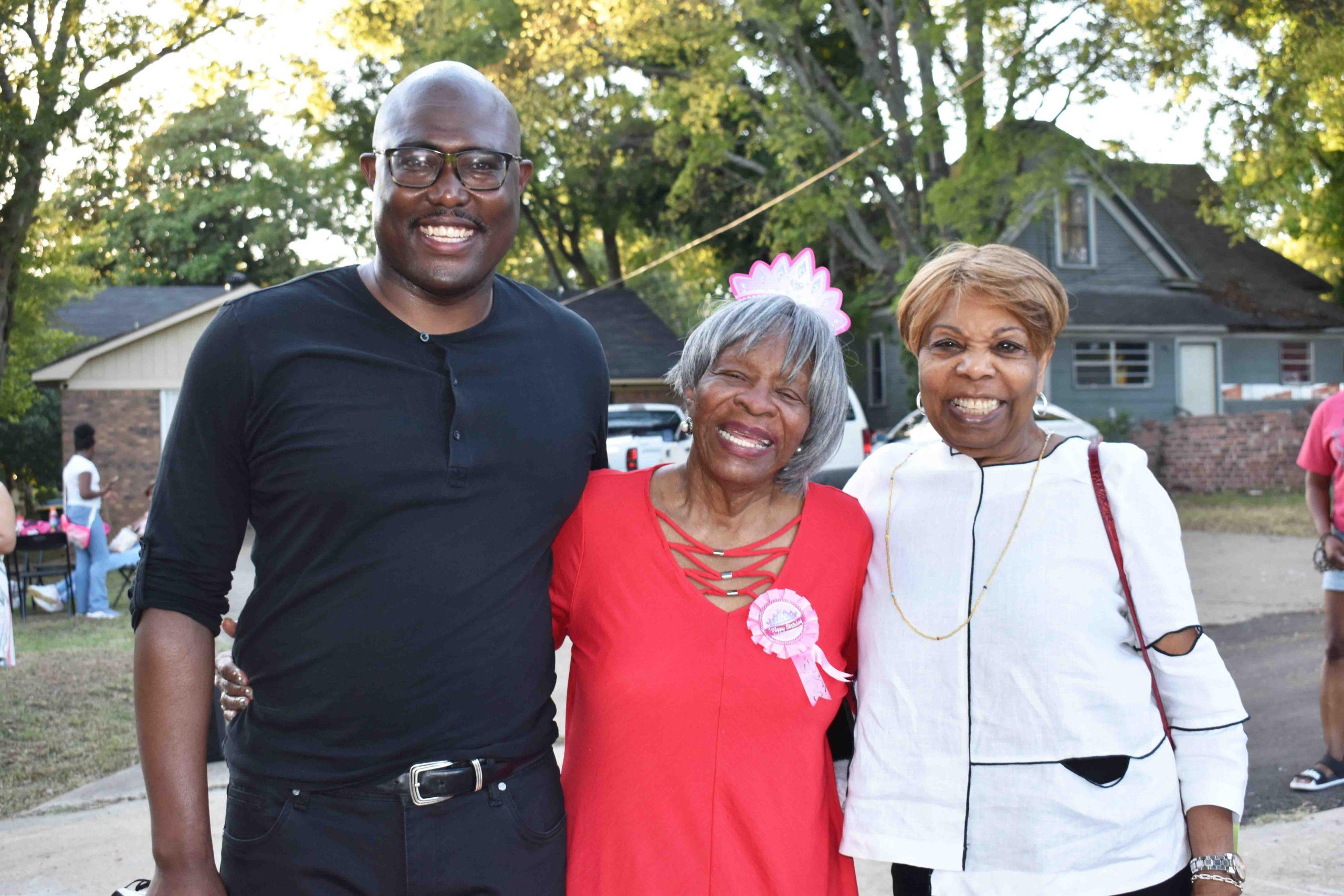 Little Rock Mayor Frank Scott, Jr., Annie Abrams, Hon. Lottie Shackleford