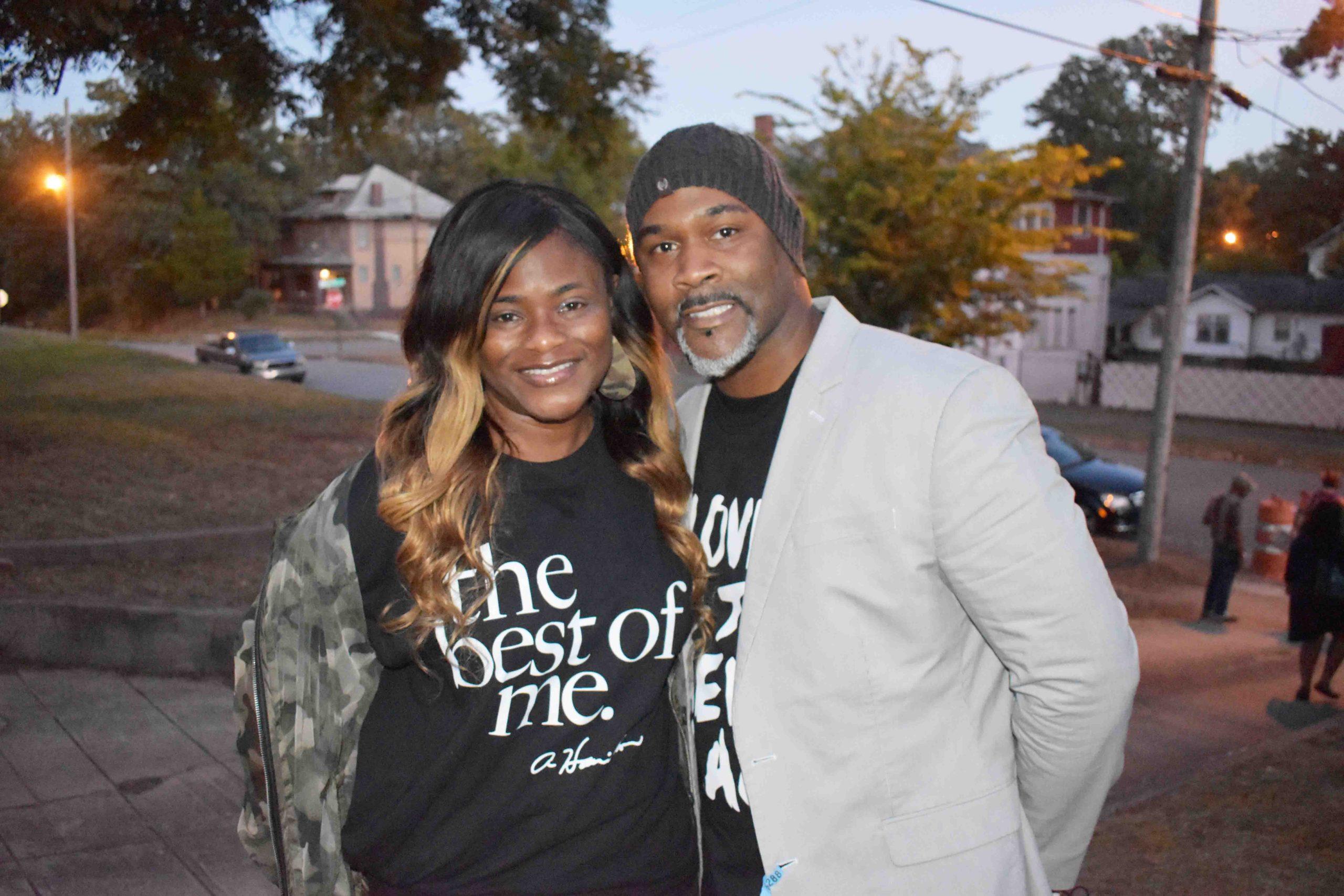 Monica and Edmund Davis