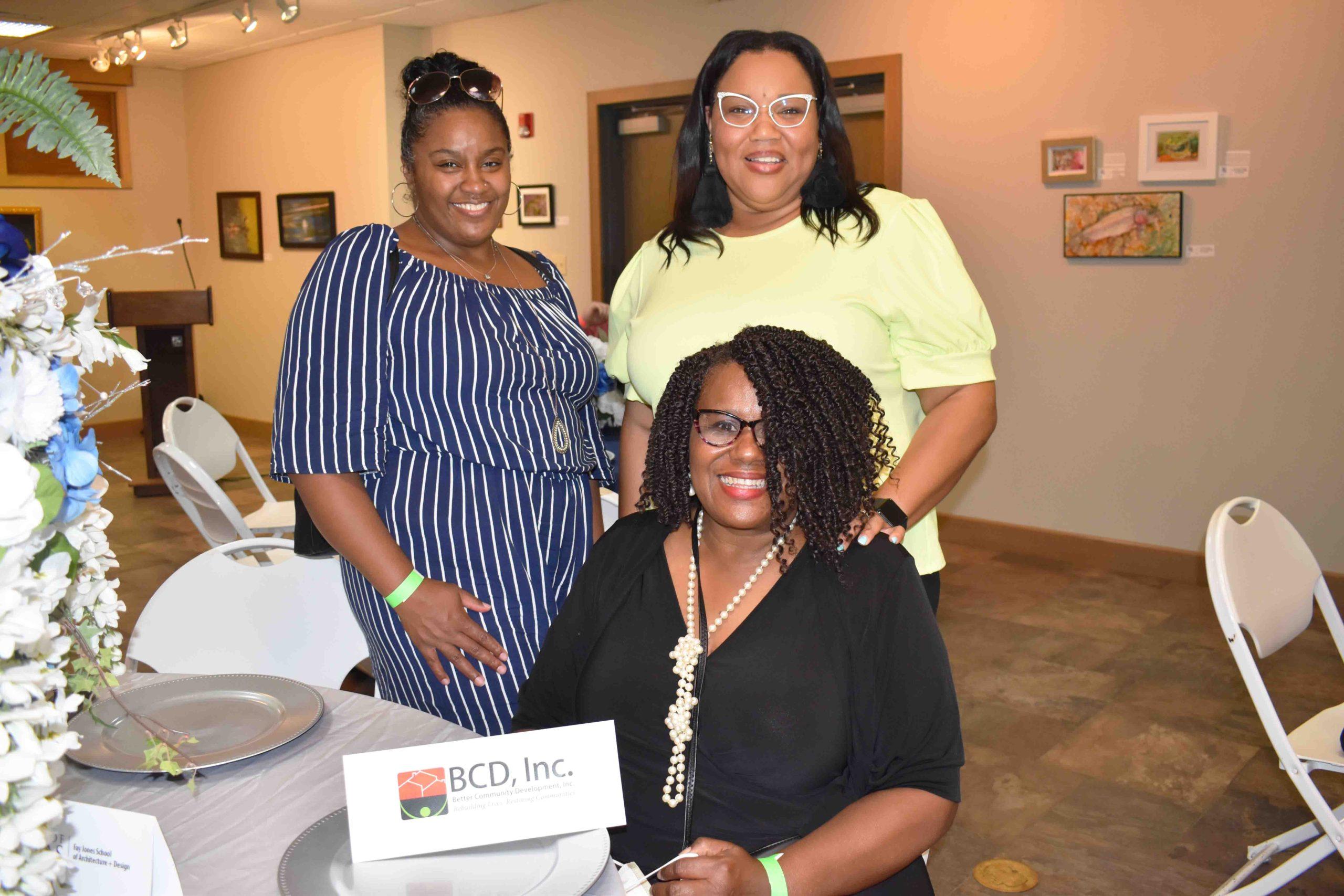 Songhai Nelson, Carleena Jones, Karen Robinson