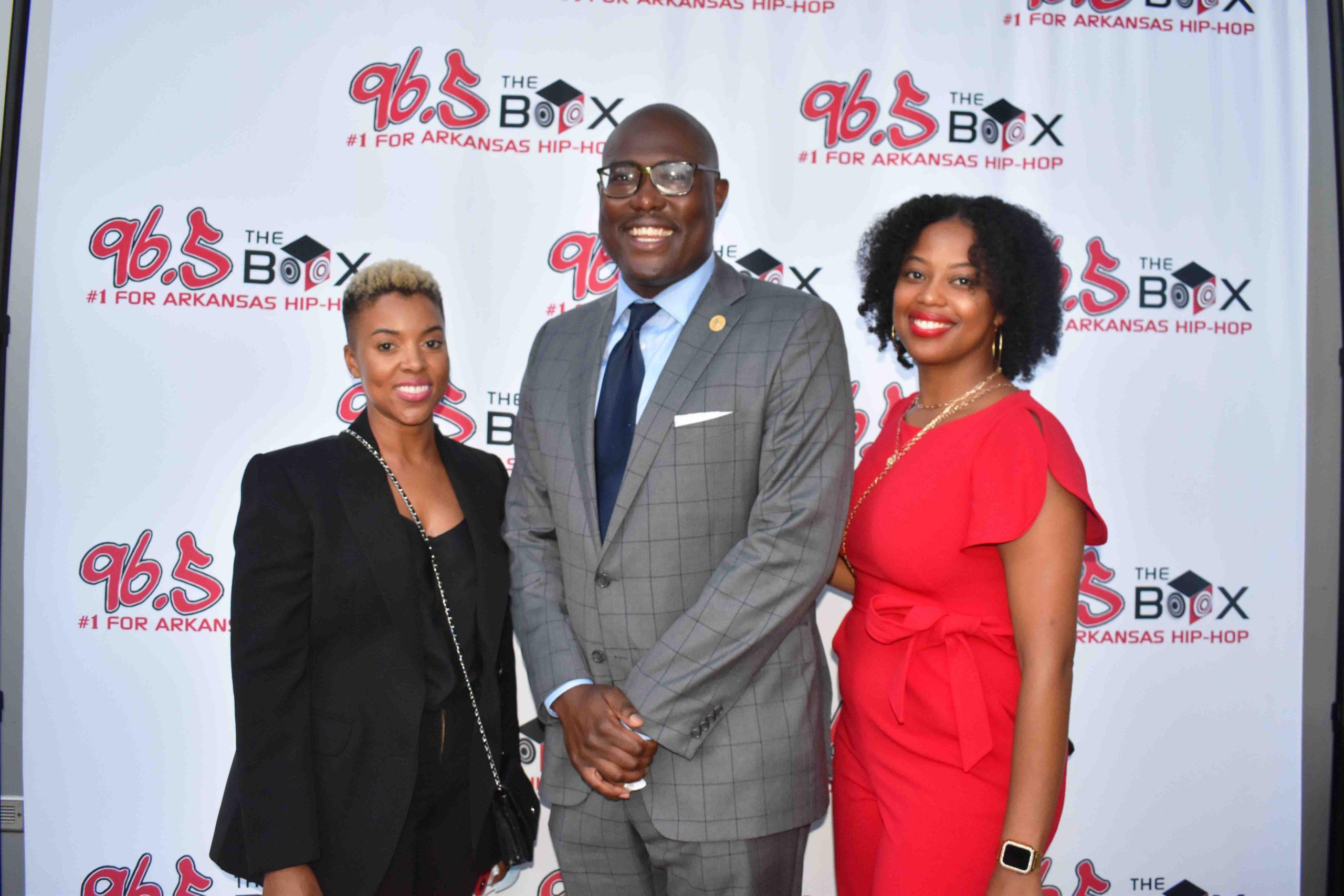 Stephanie Jackson, Little Rock Mayor Frank Scott, Jr., Kendra Pruitt