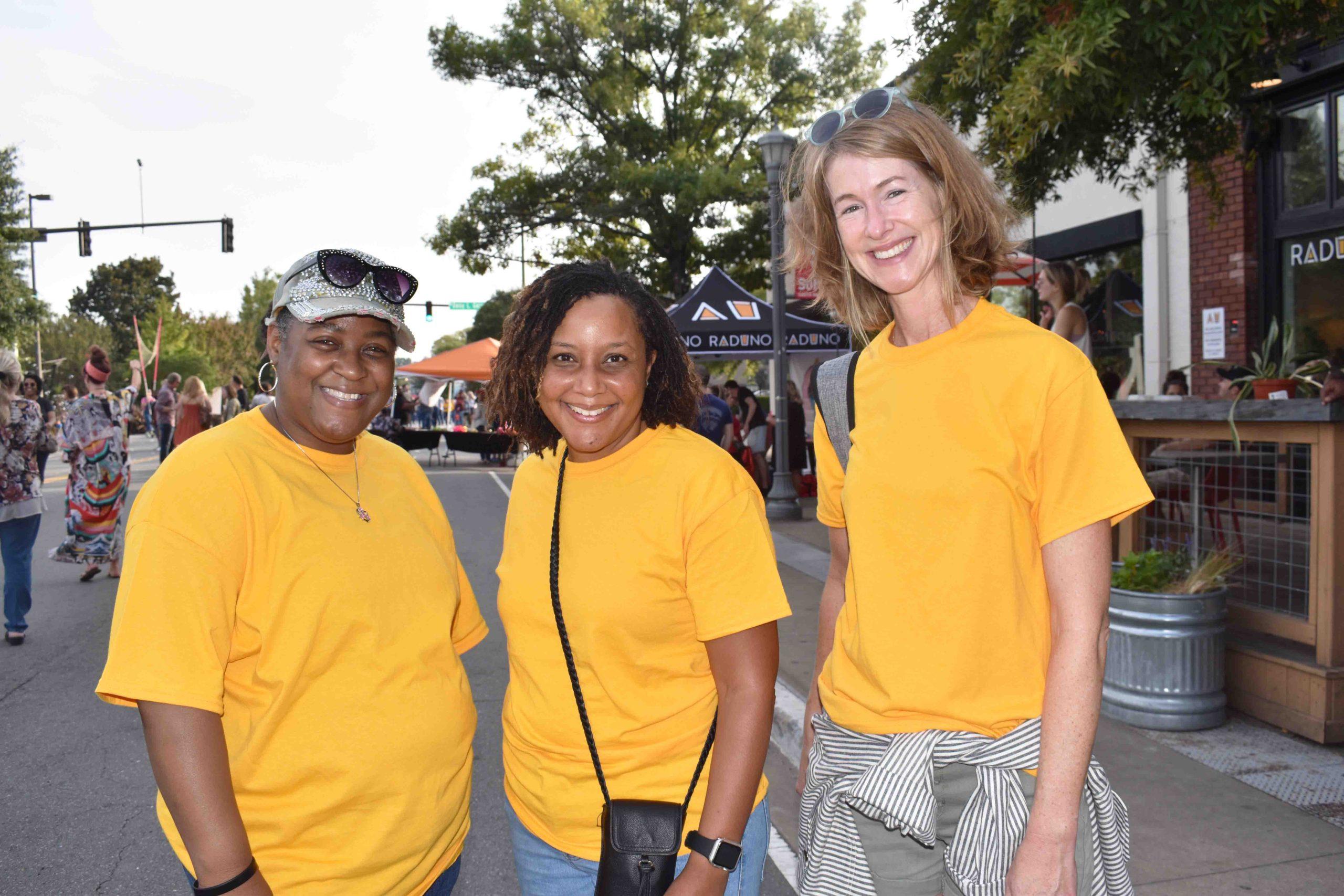 Tameka White, Tavonia Strickland, Nancy Watson