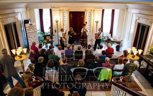 Ruddy Well Band at George Eastman's House