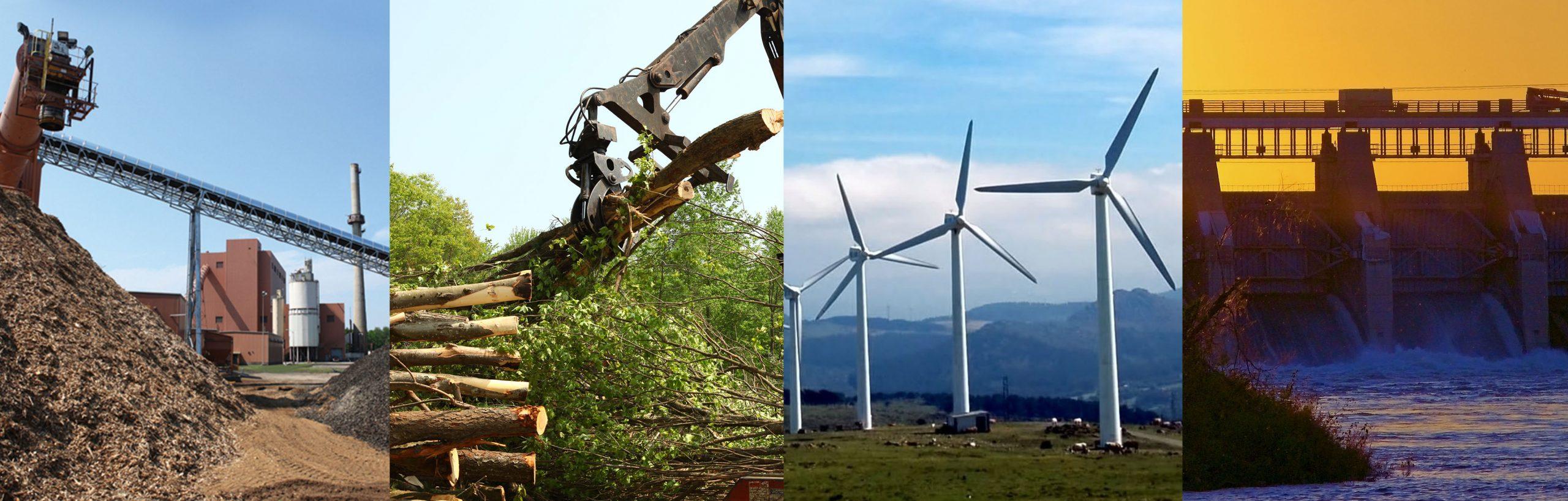 Images displaying renewable energy