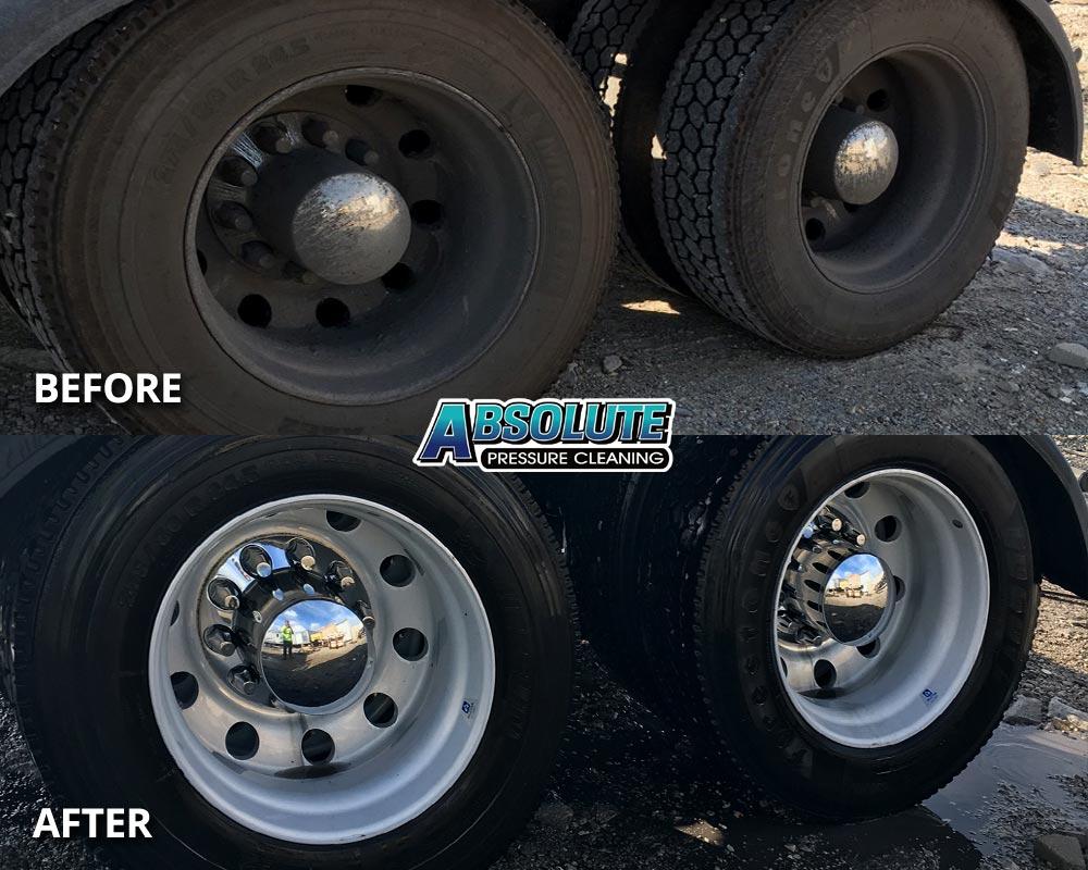 wheels-tires-truck-fleet-washing-before-after-delmarva-md-de