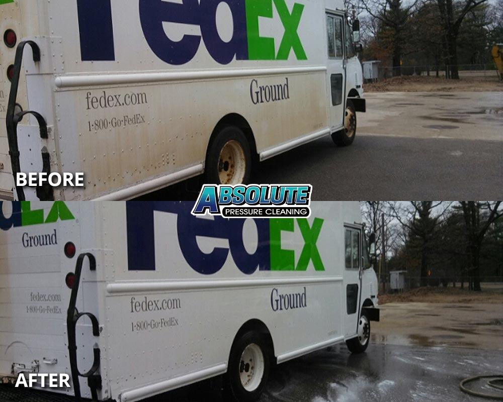 delivery-truck-van-fleet-washing-before-after-delmarva-md-de
