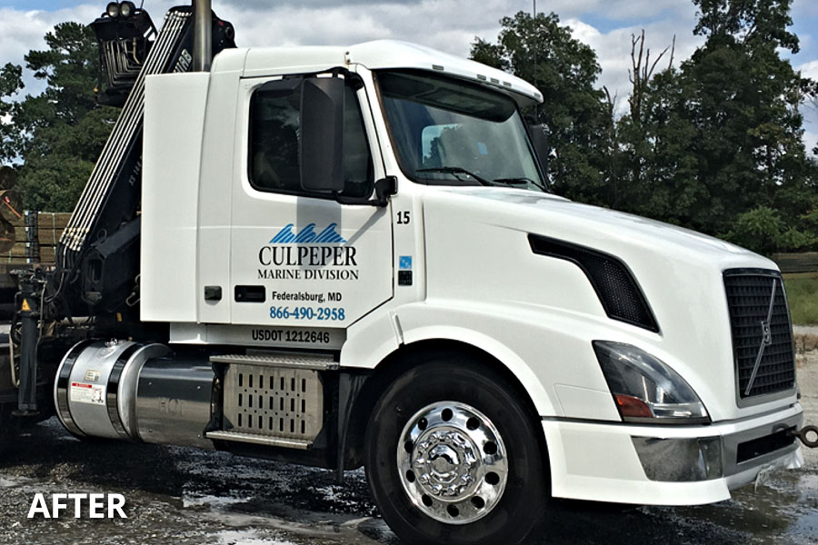 We are the Mobile Truck Wash and Fleet Washing Services Company Easton