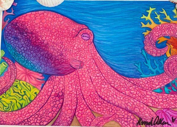 Underwater Octopus HMA
