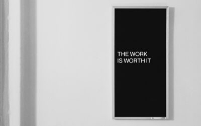 The Work is Worth It