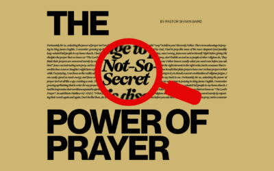 The Not-So-Secret Power of Prayer