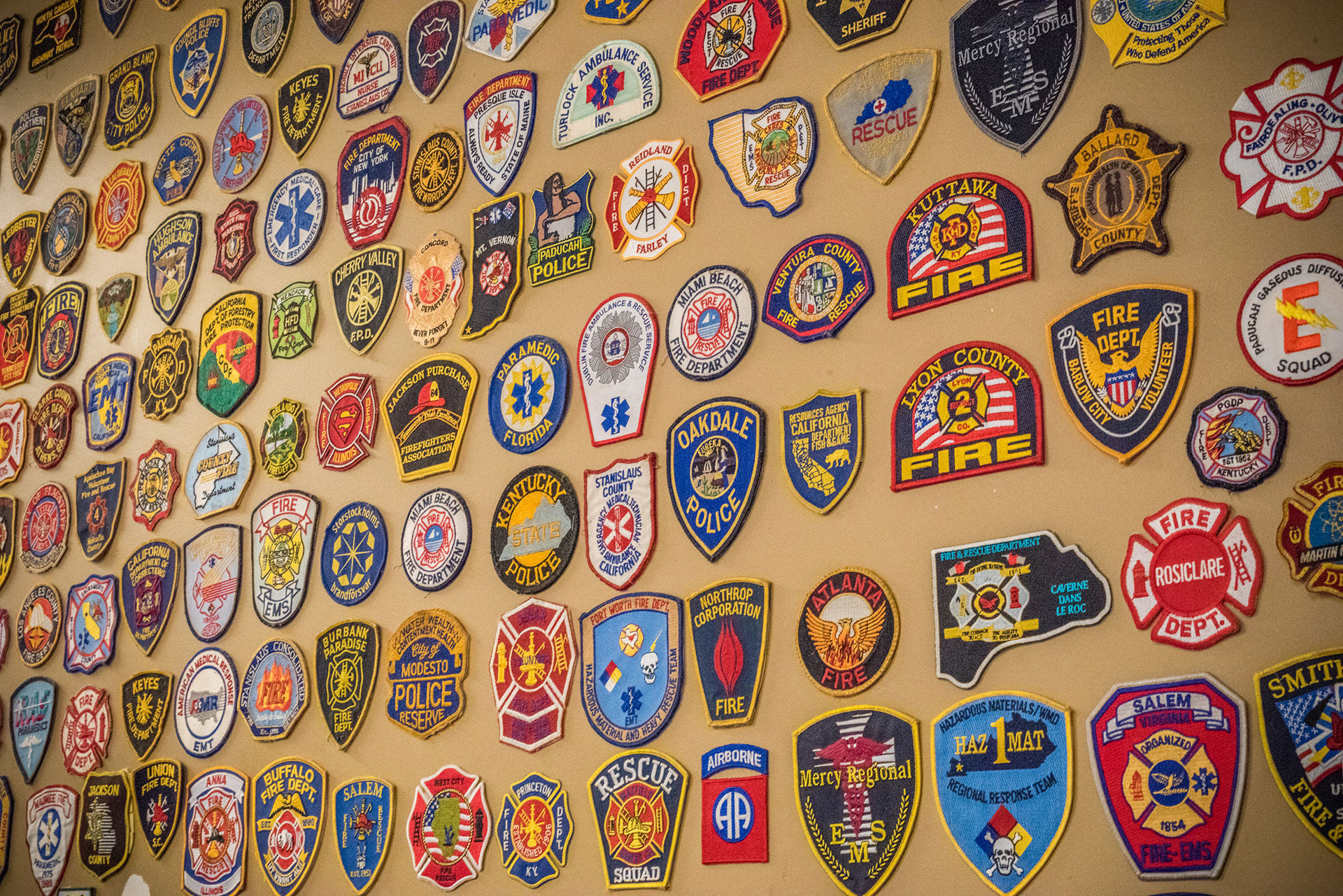 Wall of patches