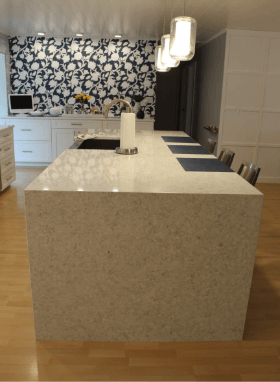 Waterfall Countertop