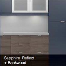 Sapphire Reflect Bankwood color