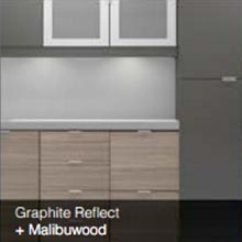 Graphite Reflect Malibuwood color