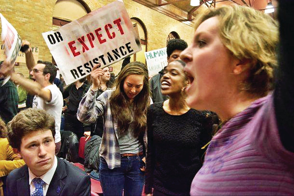 Middlebury Students Use the Brownshirts' Playbook
