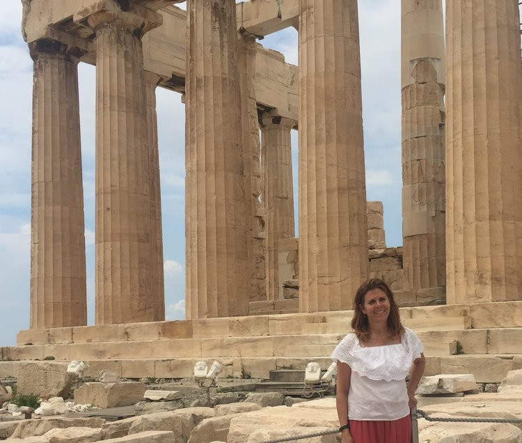 Vickie Oddino: My Time In Greece and Italy