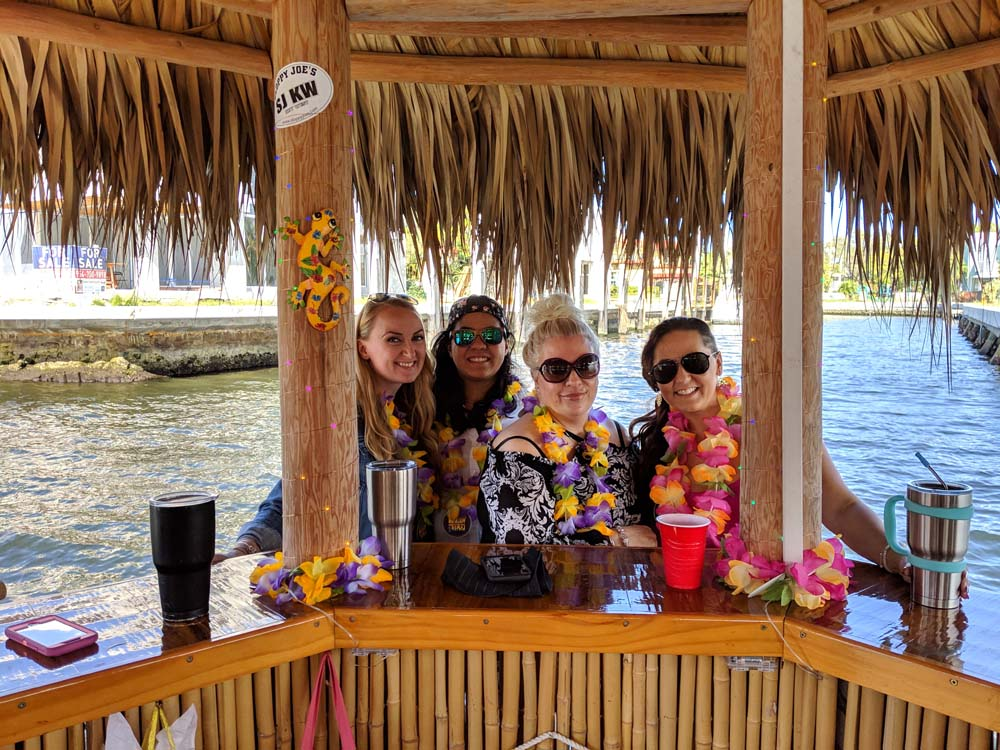 clients in lake cruise