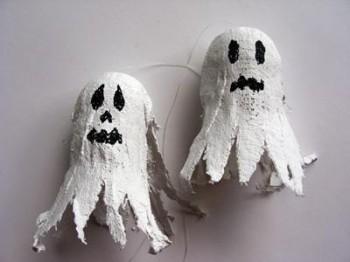 Manualidades Halloween - Fantasmita para Dia de Muertos