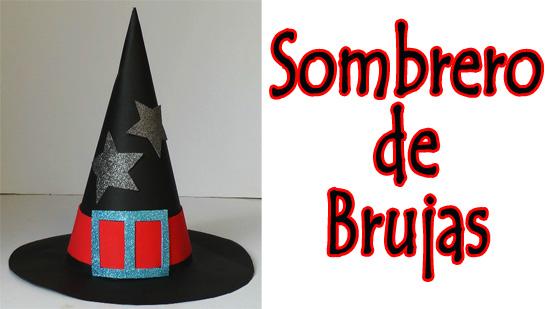 sombrero de brujas