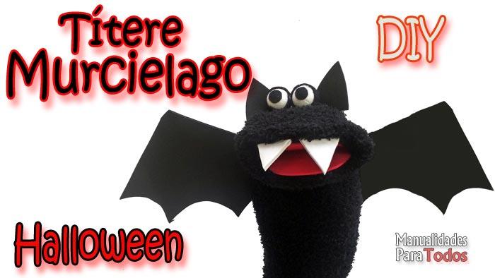 Titere Murcielago - Halloween