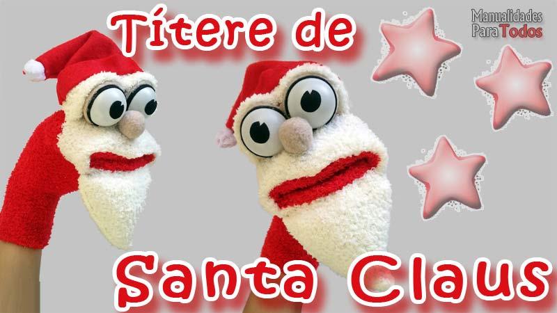 Títere de Santa Claus