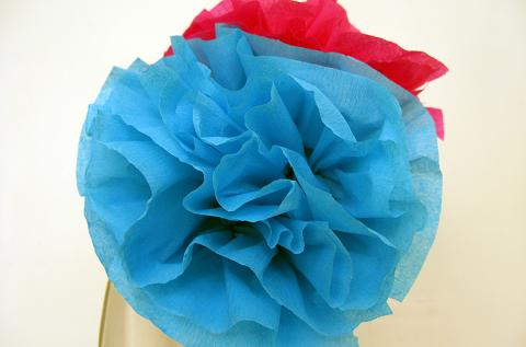 """Flor de papel crepe -""""Super facil"""""""